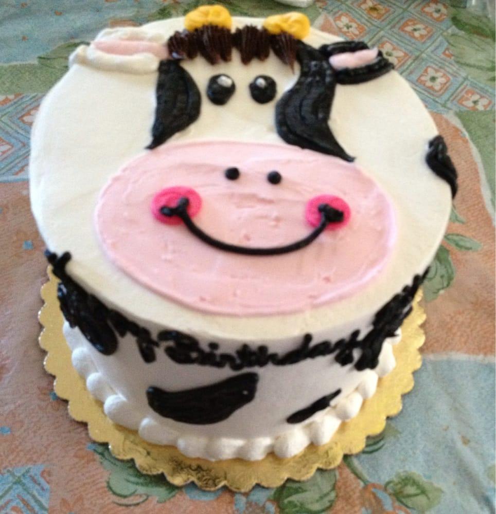 Cow Themed Birthday Cake Yelp