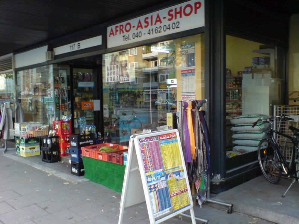Afro Shop Hamburg Hauptbahnhof