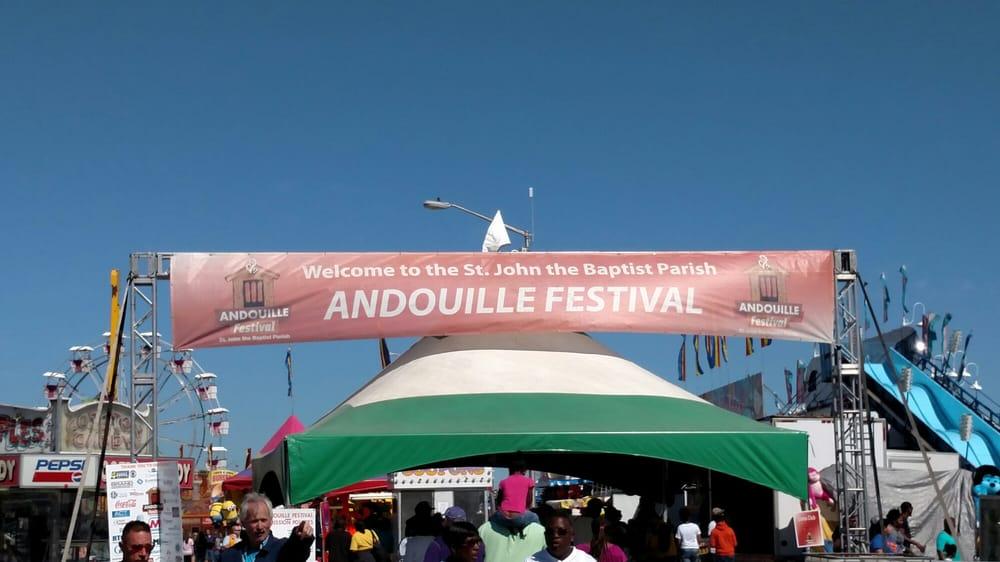Andouille Fest: 2900 Hwy 51, LaPlace, LA