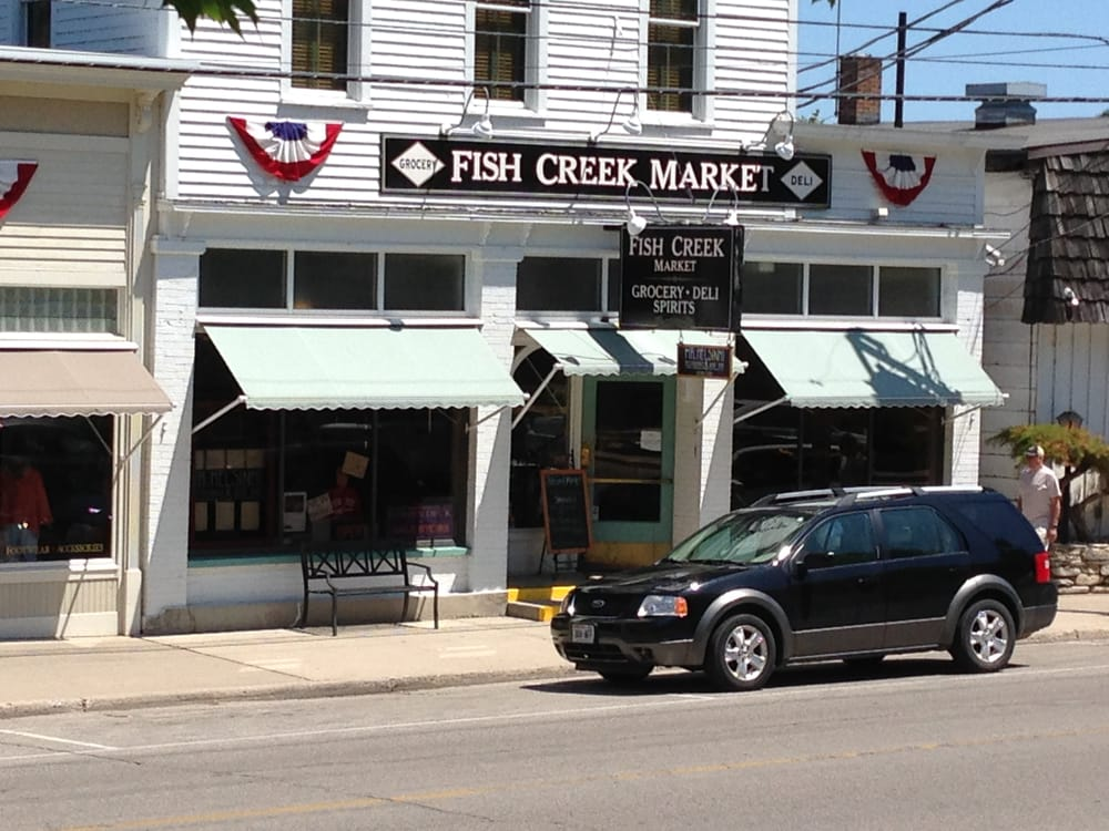 Fish creek market grocery 4164 main st fish creek wi for Fish creek restaurants