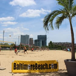 Photo Of Baltimore Beach Volleyball Md United States