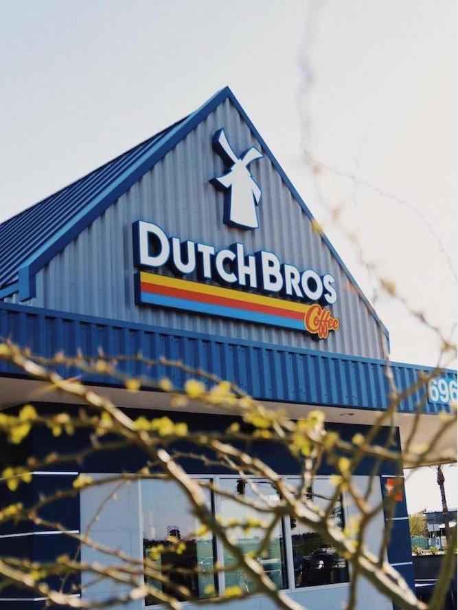Dutch Bros Coffee: 115 Myrtle St, Sutherlin, OR