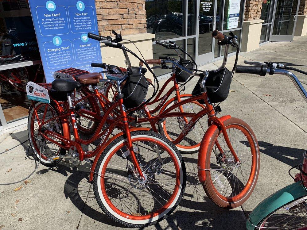 Pedego Electric Bikes Triangle: 8200 Renaissance Pkwy, Durham, NC