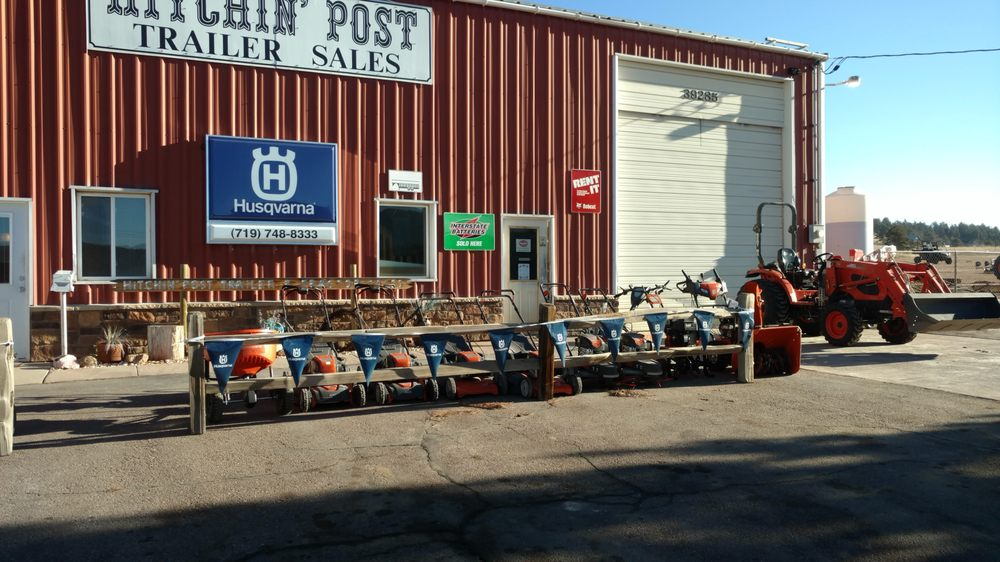 Hitchin' Post Trailer & Tractor Sales: 39285 US Hwy 24, Lake George, CO