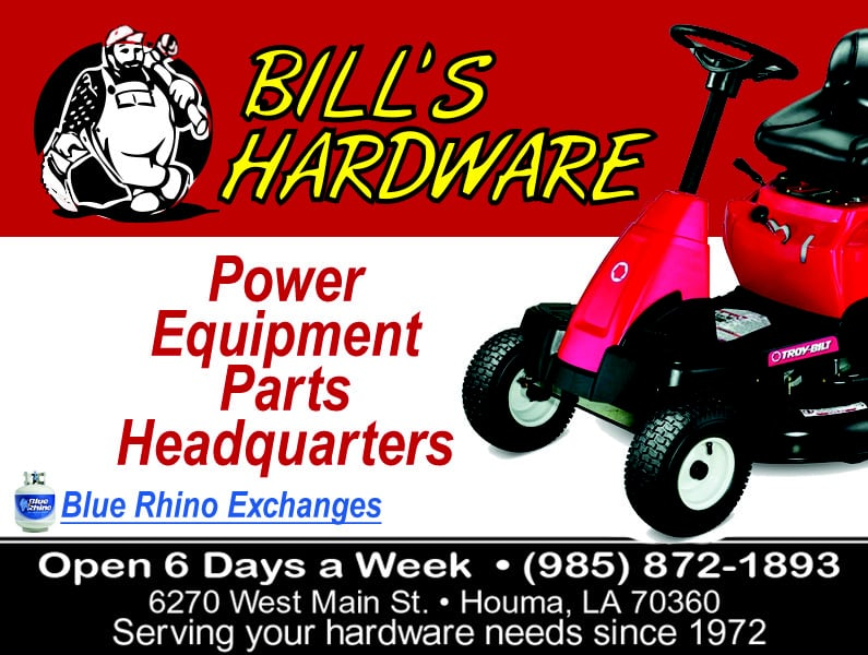 Bill's Hardware: 6270 W Main St, Houma, LA