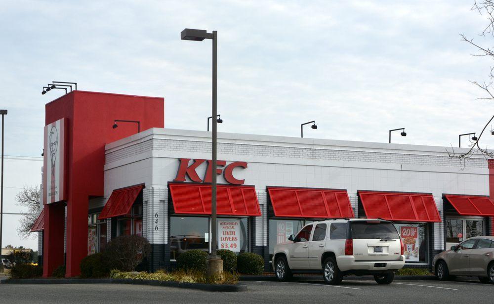 KFC: 646 Hwy 24/27, Albemarle, NC