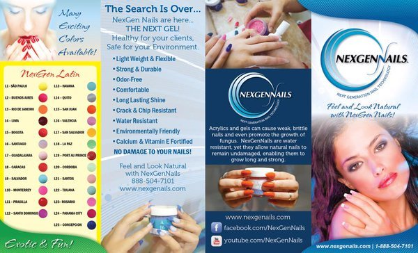Nexgen Nails Colors Charts And A Lot More Colors Available In Our