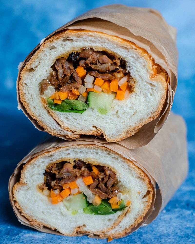 Duc Huong Sandwiches: 6825 Stockton Blvd, Sacramento, CA