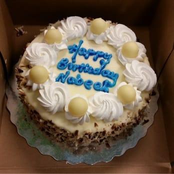 Longos Bakery Cake Order