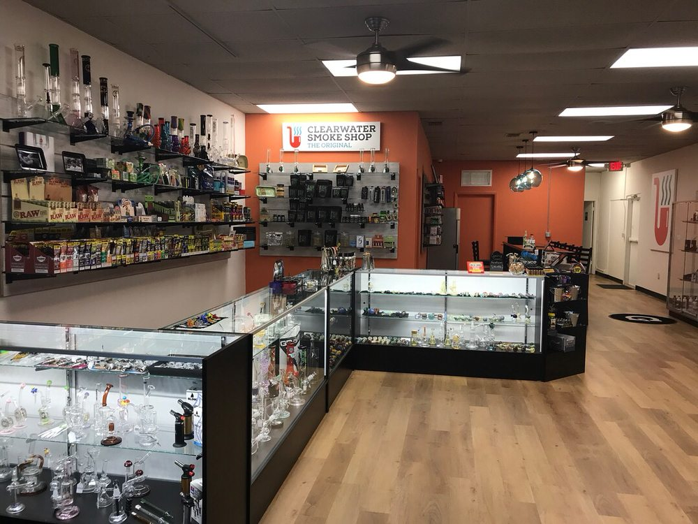 Clearwater Smoke Shop: 2862 Gulf To Bay Blvd, Clearwater, FL