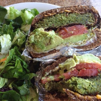 Photo Of Roxy Restaurant Encinitas Ca United States Falafel Burger Insanity