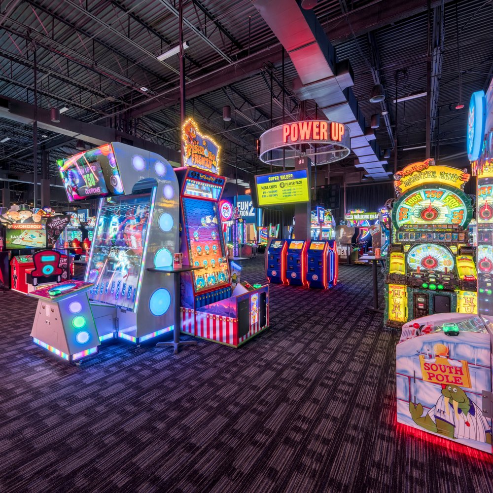 Dave & Buster's: 100 Buckland Hills Dr, Manchester, CT