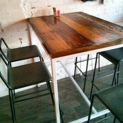 Photo Of Barn Board Store   Toronto, ON, Canada. Restaurant Table Top
