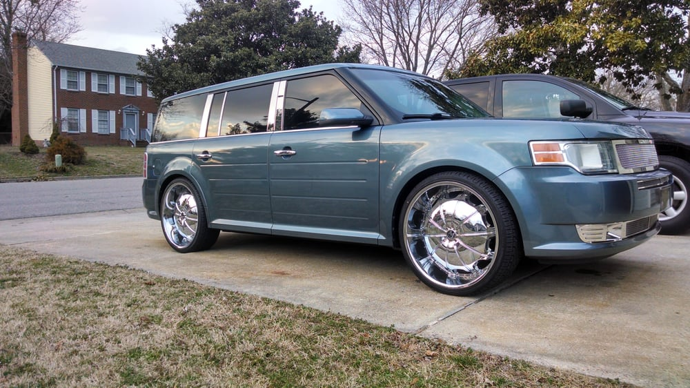 2010 Ford Flex Sittin On 24 Quot 2crave Heavy Hitters H1