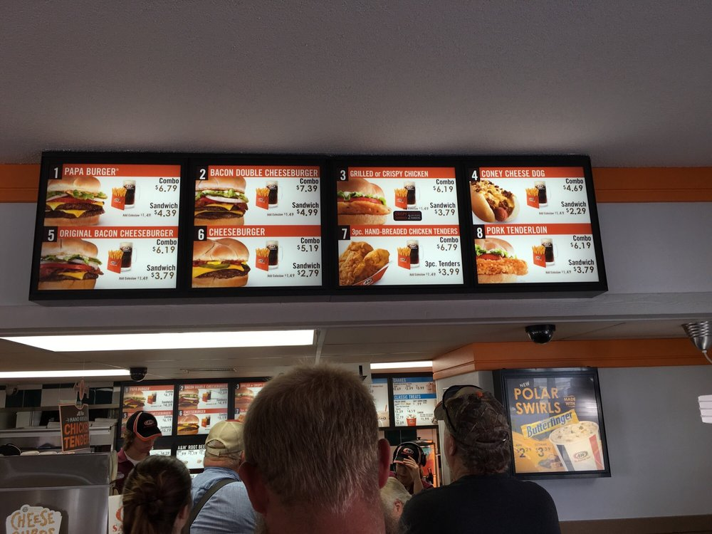 A&W Restaurant: 1421 East St, Iola, KS