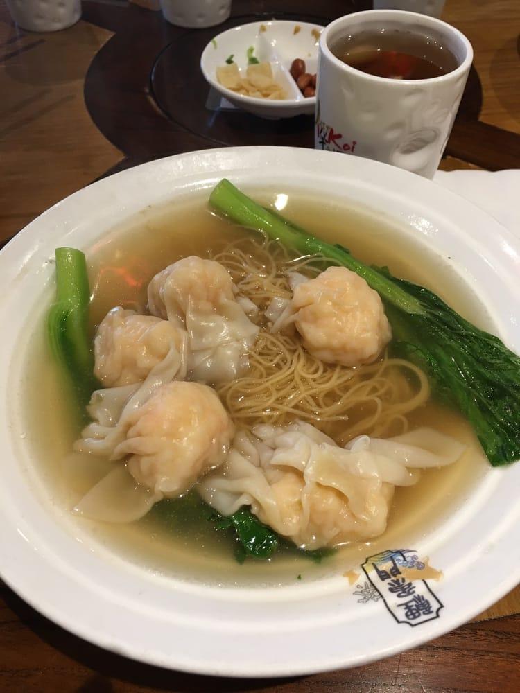 Wonton noodle soup yelp for Koi palace express