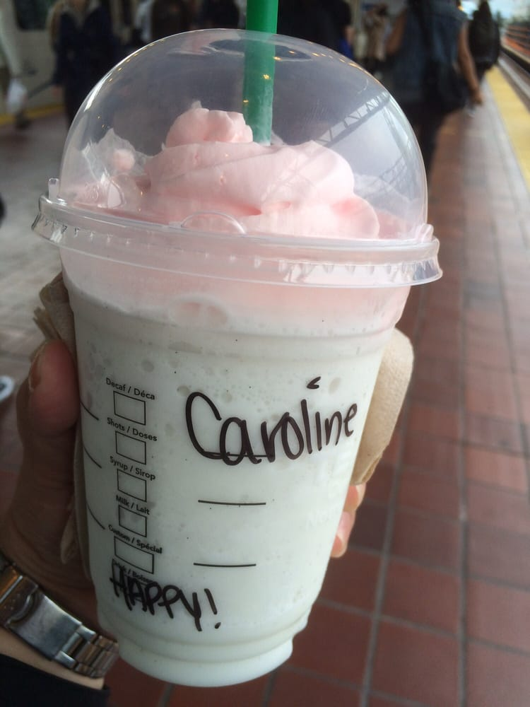 My Name Is Always Spelled Wrong The Birthday Cake Frap