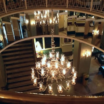 Photo Of Radisson Admiral Semmes Hotel Mobile Al United States Chandelier
