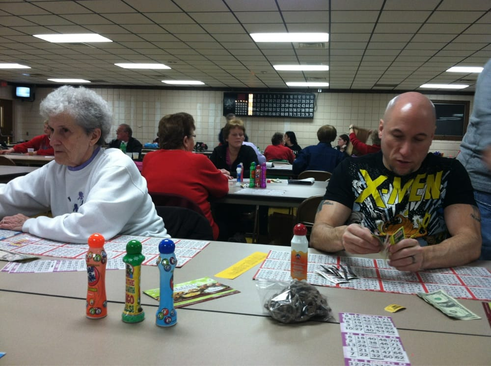 North Belle Vernon Fire Department Bingo Hall: 545 Broad Ave, Belle Vernon, PA