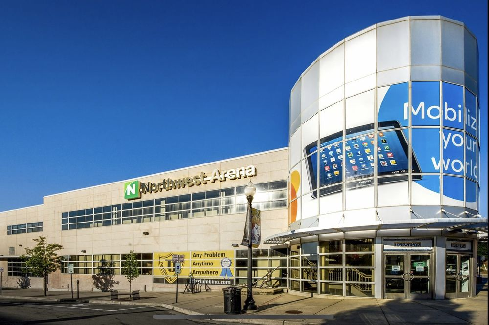 Northwest Arena: 319 W 3rd St, Jamestown, NY