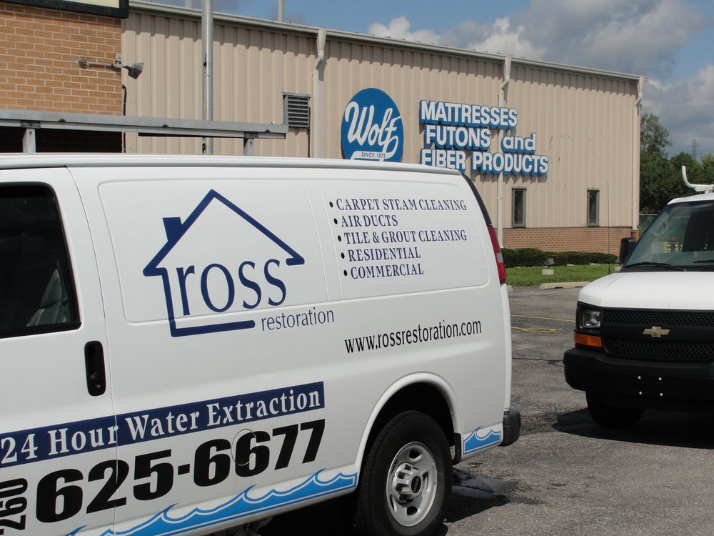 Ross Cleaning & Restoration: 2025 S Anthony Blvd, Fort Wayne, IN