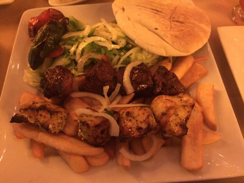 chicken and beef kabobs with fries yelp