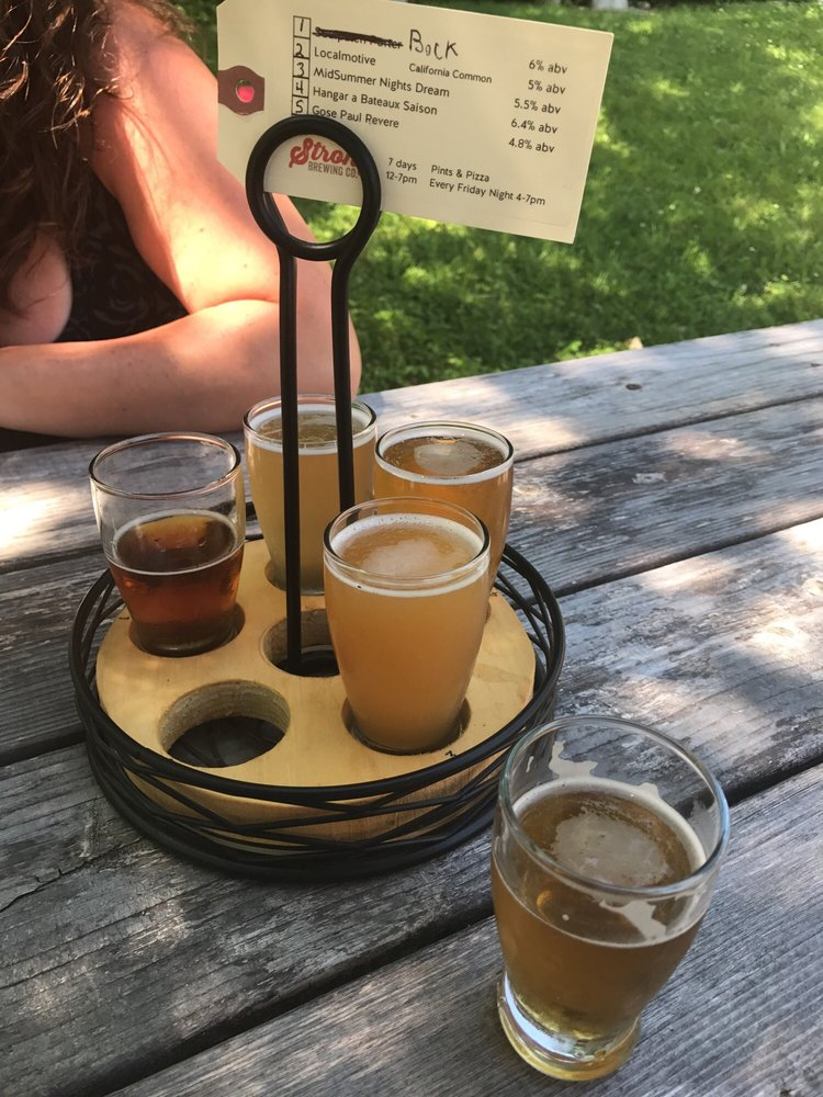 Strong Brewing Company: 7 Rope Ferry Rd, Sedgwick, ME
