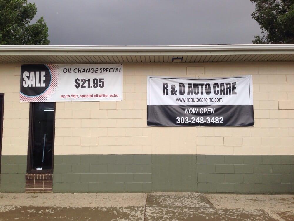 R&D Auto Care: 478 1st St, Firestone, CO