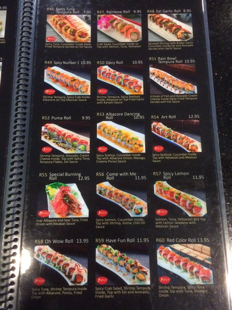 Menu pt6 yelp for Asia sushi bar and asian cuisine mashpee