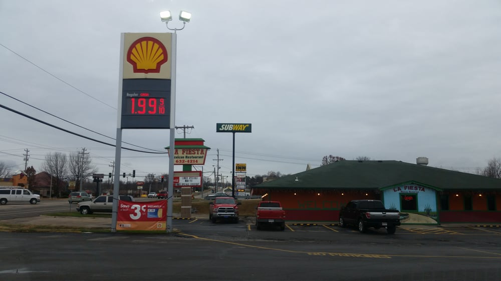 Shell Gas Station: 510 Hwy 71 N, Alma, AR