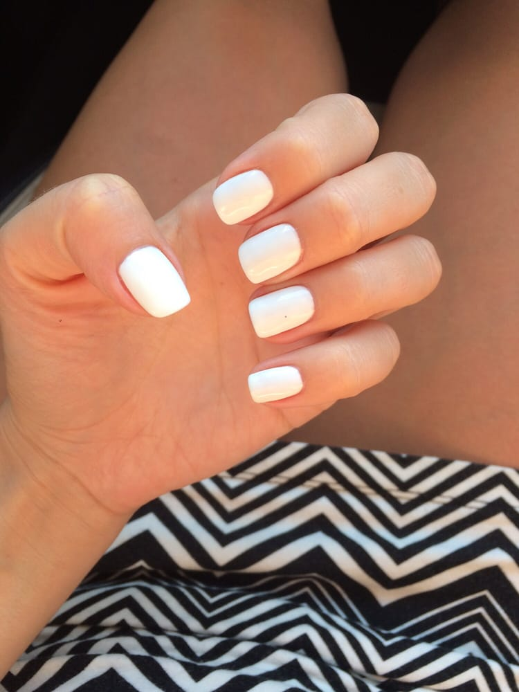 No-chip OPI Alpine White by Tina - Yelp
