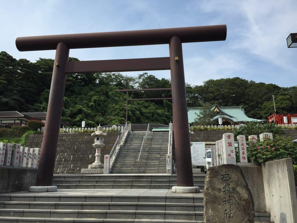 Honmoku shrine
