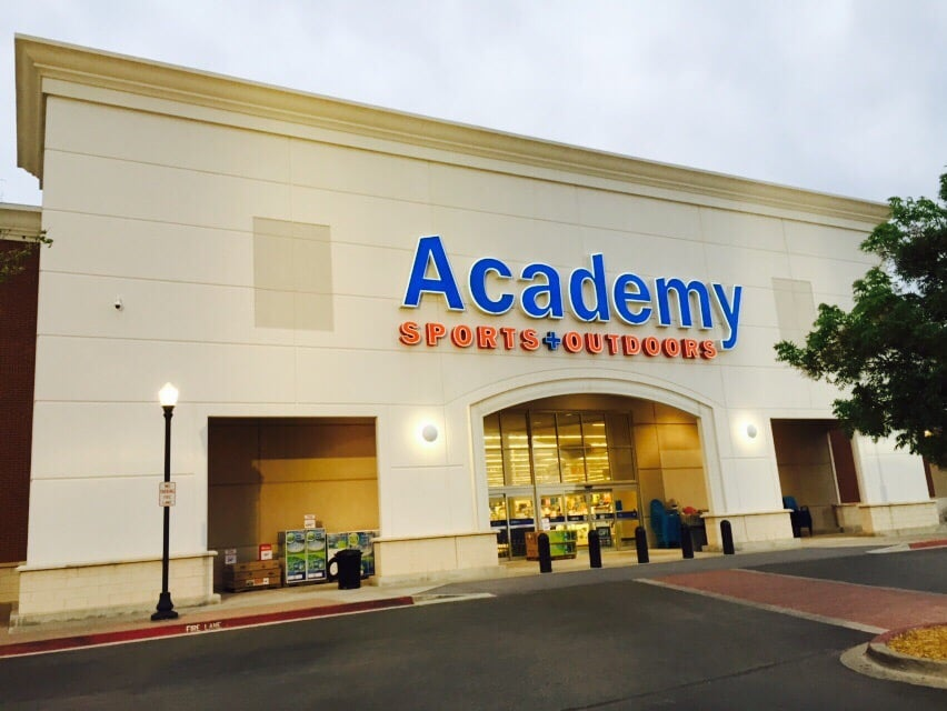 - Academy Sports + Outdoors opens 50th store location in Temple, Texas. Sales reach $1 billion; - Academy Sports + Outdoors opens its first Arkansas location. - Academy Sports + Outdoors opens its first Missouri and Georgia locations. - Academy Sports + Outdoors employs over 10, team members across the Southeast. The company opens first , sq. ft. store.