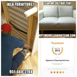 Photo Of Optimum Cleaning Services   Moreno Valley, CA, United States. Ikea  Furniture