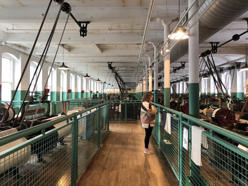 Social Spots from Boott Cotton Mills Museum