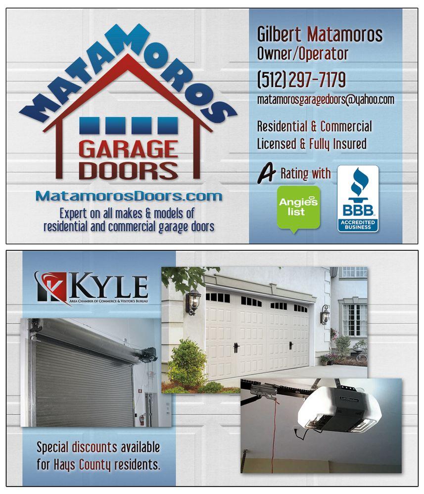 Matamoros Garage Doors: Kyle, TX