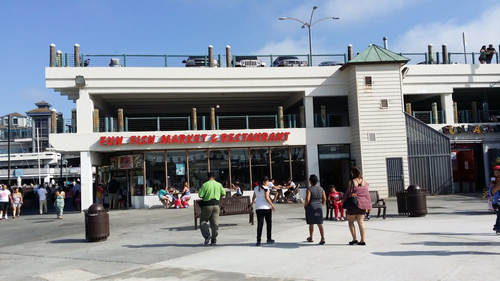 The front yelp for Redondo beach fish market