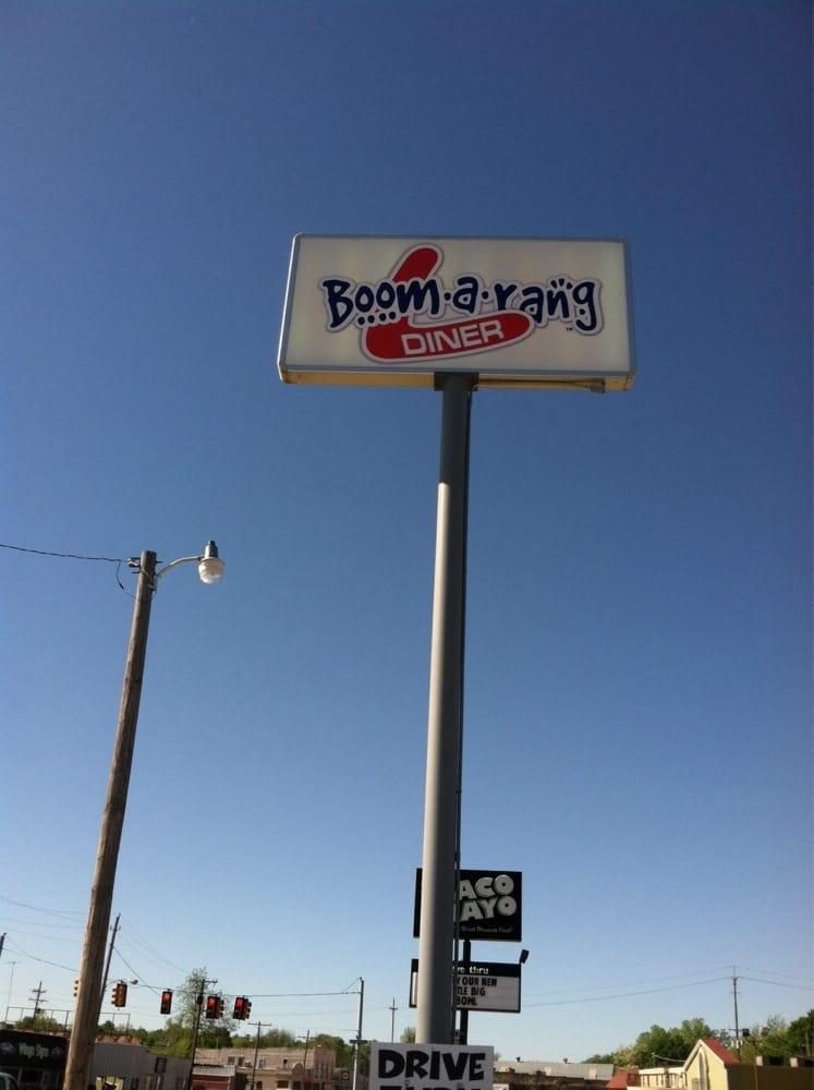 Boom-a-Rang: 201 S Main St, McAlester, OK