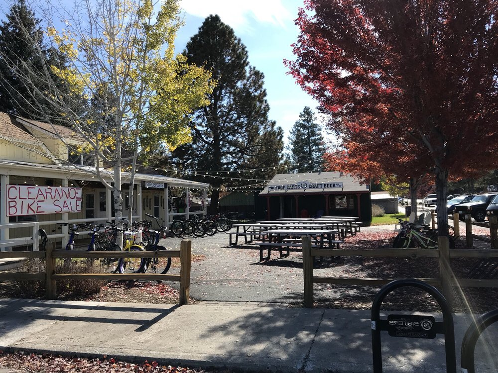 Food Cart Garden: 223 E Hood Ave, Sisters, OR