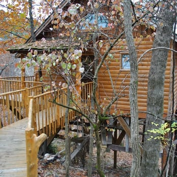 Photo Of Treehouse Cottages   Eureka Springs, AR, United States. Hideaway  Treehouse