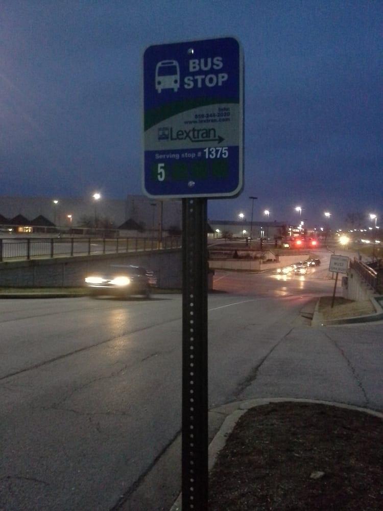Lextran Bus Stop 1375: 3800 Mall Rd, Lexington, KY