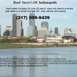Photo Of Roof Savers Of Indianapolis   Indianapolis, IN, United States. We  Specialize
