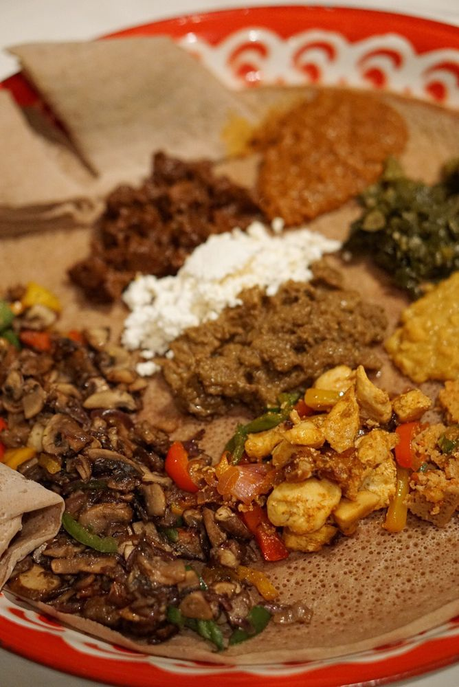 Selam Ethiopian & Eritrean Cuisine: 5494 Central Florida Pkwy, Orlando, FL