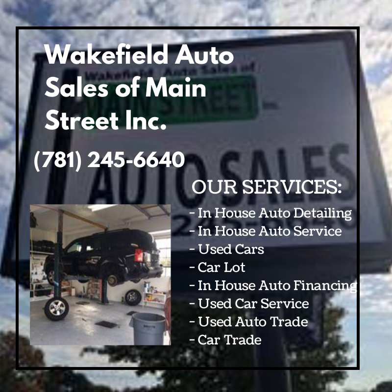 Wakefield Auto Sales Of Main Street - 17 Photos - Used Car Dealers ...