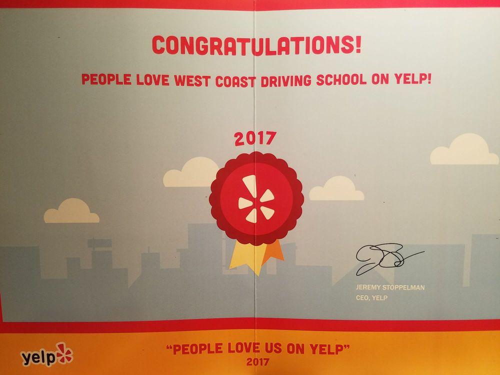 West Coast Driving School: 14726 Ramona Ave, Chino, CA