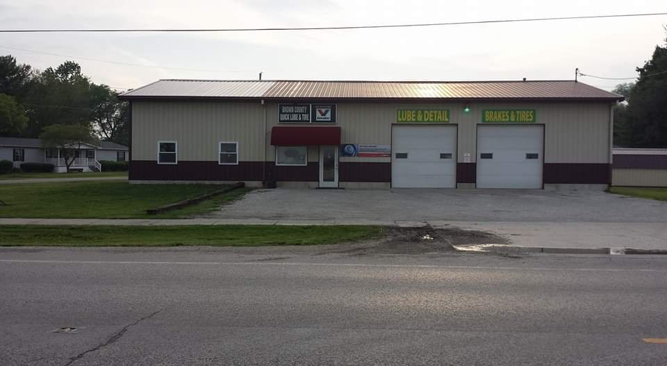 Brown County Quick Lube & Tire: 305 Pittsfield Rd, Mount Sterling, IL