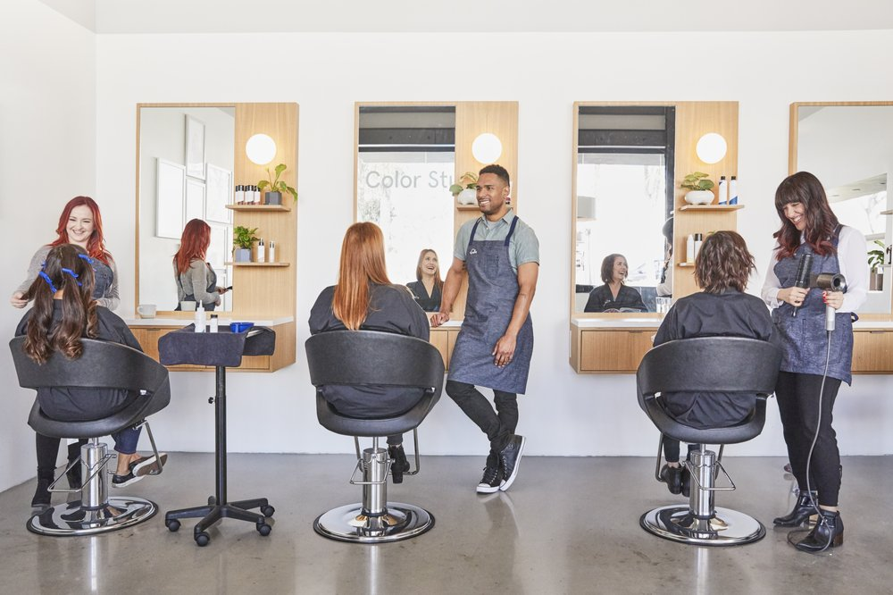 We craft apply custom hair color want to learn how to do it photo of esalon color studio el segundo ca united states we craft solutioingenieria Gallery