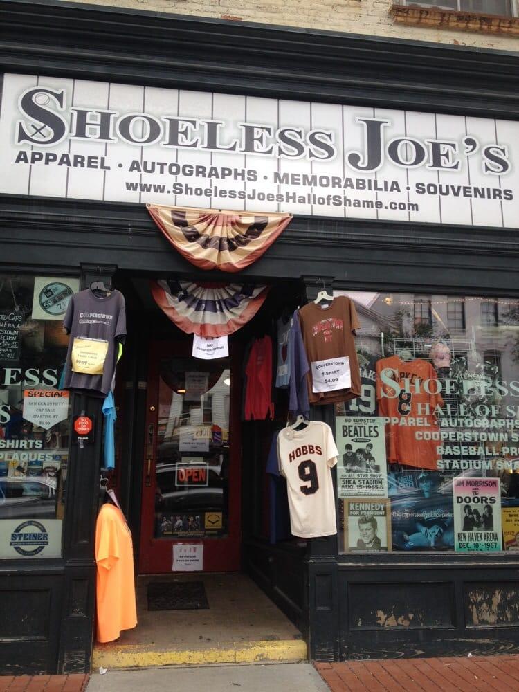 Shoeless Joe's: 70 Main St, Cooperstown, NY