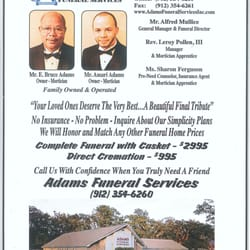 Adams Funeral Services Funeral Services Cemeteries 510
