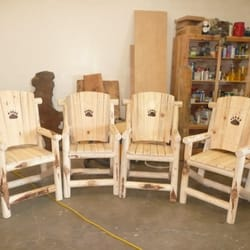 Photo Of Daveu0027s Custom Creations   Medford, OR, United States. Sturdy  Outdoor Chairs